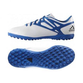 Adidas MESSI 15.4 TF J WHT/BU/BK B25452