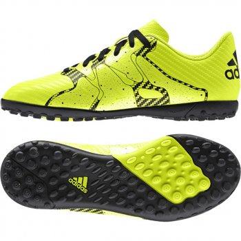 Adidas X 15.4 TF J YEL/BK B32950