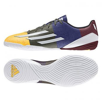 Adidas F10 IN (Messi) OJ/ WHT/GRN M21766