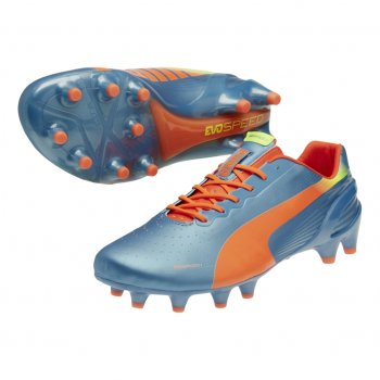 Puma evoSPEED 1.2 FG Sharks Blue-Fluro Peach 102833-05