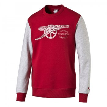 Puma Arsenal 16/17 Fan Style Sweater RED-GRY 750445-01