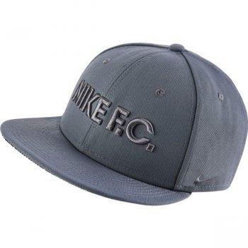 NIKE FC TRUE CAP GRY 805470-065