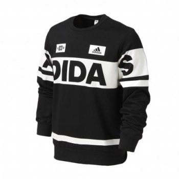 Adidas Crew Linear Sweater BLK AZ8359