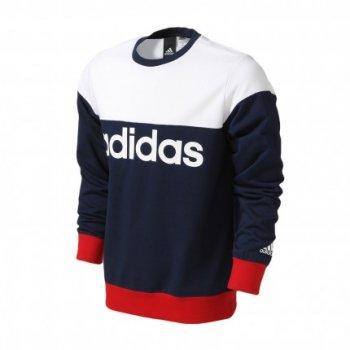 Adidas Crew Logo GRY-BK AZ8347