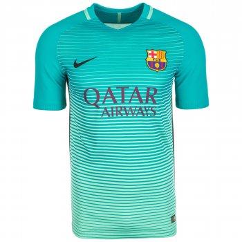 Nike FC Barcelona 16/17 (3RD) S/S Match JSY GRN 776848-390