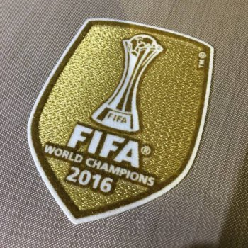 FIFA Club World Cup 2016 Champion Badge (Real Madrid)