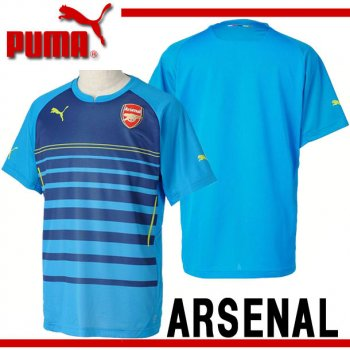 Puma Arsenal 14/15 Pre Top Navy With No Sponsor 746513-04