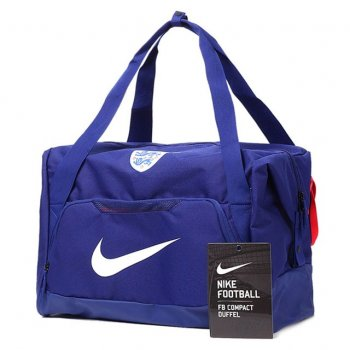 Nike National Team 2016 England Allegiance Shield Compact Duffel Blue BA5148-455