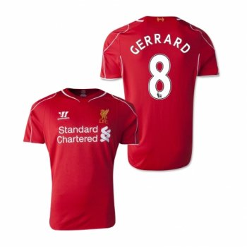Warrior Liverpool 14/15 (H) S/S WSTM400  With Nameset