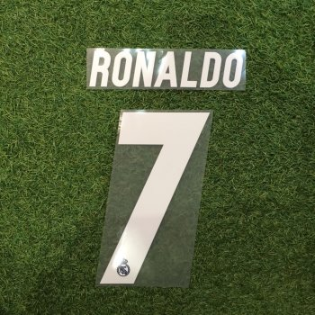 Real Madrid 16/17 (A/3rd)  NameSet