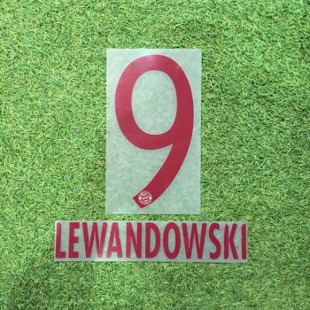 FC Bayern Munich 16/17 (3rd) Letters and Numbers