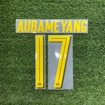 BVB Dortmund 16/17 (A) Letters and Numbers