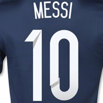Argentina National Team 2015 (A) Letters and Numbers