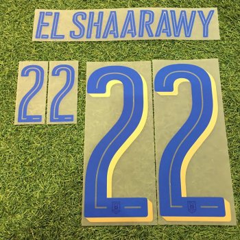 National Team Eruo 2016 Italy (A) Letters and Numbers