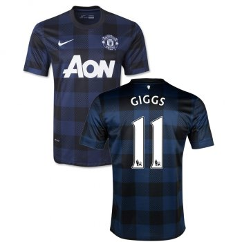 Nike Manchester United 13/14 (A) S/S 532838-411  With Nameset