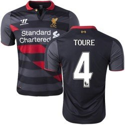 Warrior Liverpool 14/15 (3rd) S/S WSTM408BK With Nameset