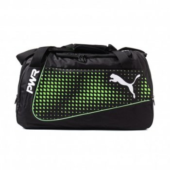 PUMA evoPOWER Medium Bag BK/GR 073878-06