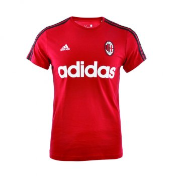 Adidas AC Milan 15/16 Graphic Tee Red AA5610