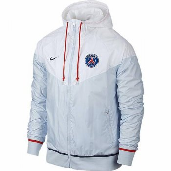 Nike PSG 15/16 Windrunner Authentic WHT/GY/NVY 703717-100