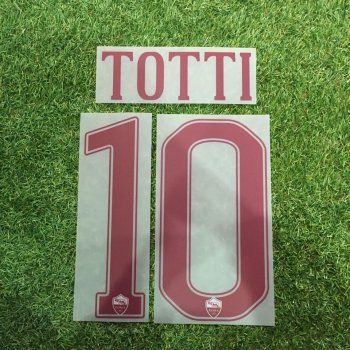 AS Roma 16/17 (A) Letters and Numbers