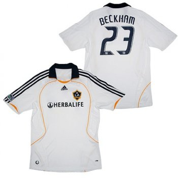 Adidas LA Galaxy 08/09 (H) S/S with #23 Beckham