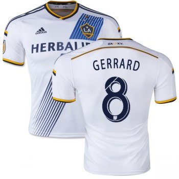 Adidas LA Galaxy 15/16 (H) S/S M38704 With #8 Gerrard Name Print