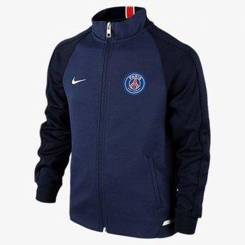 Nike PSG 16/17 N98 Authentic Jacket NVY/WHT 694589-410
