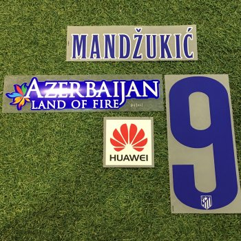 Atletico Madrid 14/15 (H)  Nameset With AZERBAIJAN & HUAWEI Sponsor