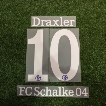 Schalke 04 FC 13/14 (H/3RD) Letters and Numbers