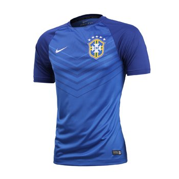 Nike National Team 2014 Brazil Pre-Match Training Top 575724-493
