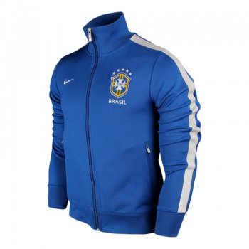 Nike National Team 2013 Brazil Jacket Blue 541348-493