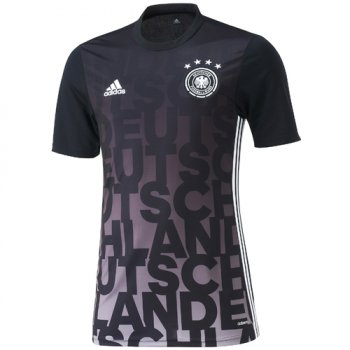 Adidas National Team 2016 Gemany Pre-Match Shirt BK/WHT AC6574
