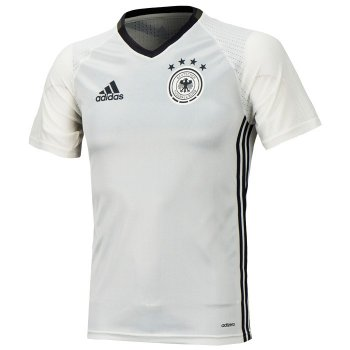 Adidas National Team 2016 Germany Training Jersey Whtie AC6545