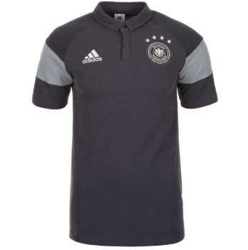 Adidas National Team 2016 Germany Polo Gray AH3419