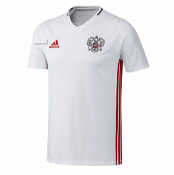 Adidas National Team 2016 Russia Training Jersey WHT/RD AC5797
