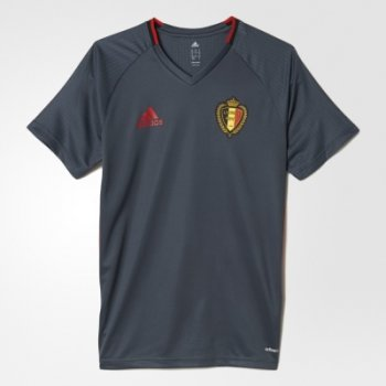 Adidas National Team 2016 Belgium Training Jersey Black AC5769