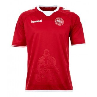 Hummel National Team Euro 2016 Denmark (H) S/S 03-712-3365