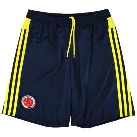 Adidas National Team 2015 Colombia (H) Shorts NVY/YEL S27044