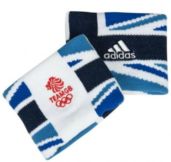 Adidas Team GB Small Wristband Pair