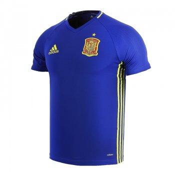 Adidas National Team 2016 Spain Training Jersey Blue AI4851