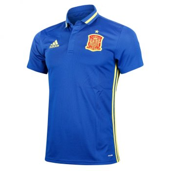 Adidas National Team 2016 Spain Polo Blue AI4861