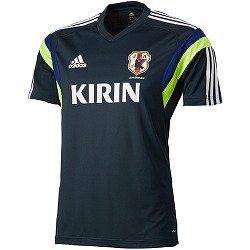 Adidas National Team Japan 2014 Training S/S Black D03291