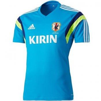 Adidas National Team 2014 Japan S/S Training Blue D03289