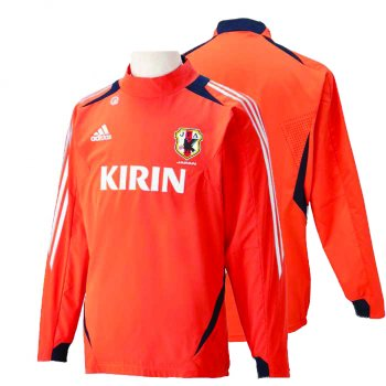 Adidas National Team 2012 Japan Training  Orange X47639  L/S