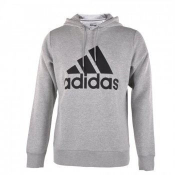 Adidas Logo Hoodie GY/BK S21338