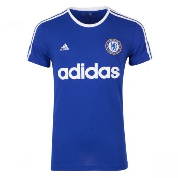 Adidas Chelsea 15/16 Graphic Tee Blue AA2198