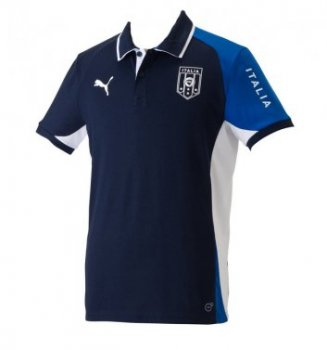 Puma National Team 2013 Italy Polo Navy 742557-03
