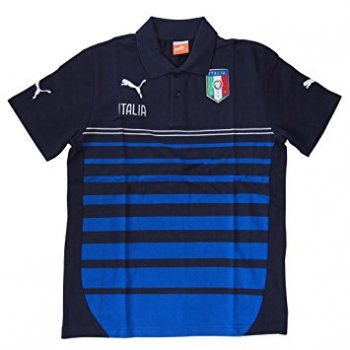 Puma FIGC Italy 2014 Leisure Hooped Polo 744274-03