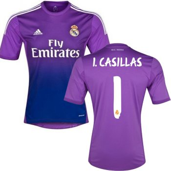 Adidas Real Madrid 13/14 (H) GK G81065 With I.Casillas Nameset
