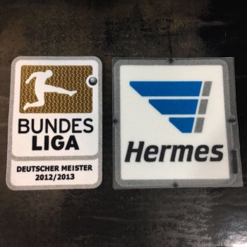 Bundesliga 12/13 Champion Badge with Hermes Logo